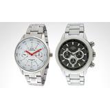 Reloj Caballero Montreal Modelo 35116 - 7 Color Plata