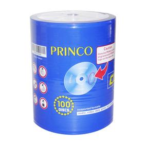 Cd Princo 80 Min 700 Mb Paquete De 100 Unidades