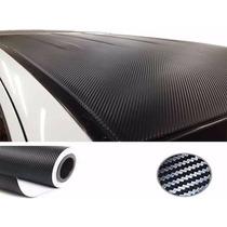 Adesivo Envelopamento Painel Automotivo Fibra De Carbono