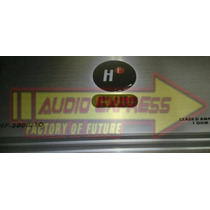 Amplificador Auto Clase D Bajos O Subwoofer Hf5001d 2500w