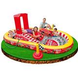 Piscina Inflável 636l Intex Playground Disney Carros Mcqueen