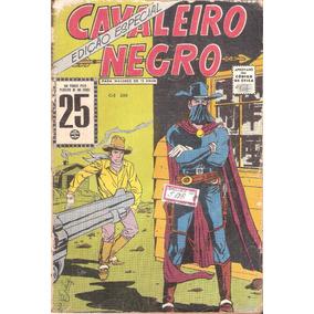 Cavaleiro Negro - Edição Especial - Anos 1960 - Frete Grátis