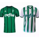 Kit 2 Camisas Futebol Palmeiras Uniforme 1 2 3