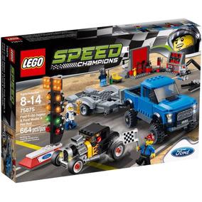 Lego 75875 Ford F-150 Raptor Y Ford A Modificado, Env Gratis
