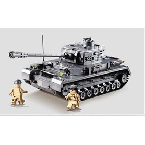 Brinquedo Tanque Guerra Tank War 1193 Peças Bloco Montagem