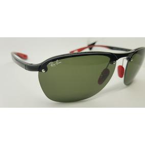 Óculos De Sol Scuderia Ferrari Rb4302 Verde Clássico G15. ca9f13bb92