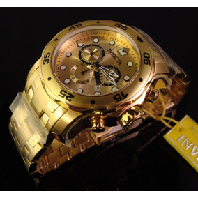 b28972894f4 Invicta Men S 14357 Pro Diver 18k Gold Ion-plated Watch - Relógios ...