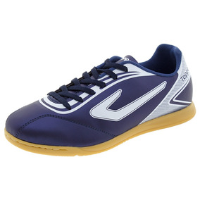 Chuteira Futsal - Chuteiras Topper de Futsal Azul marinho no Mercado ... cca010e4e4f44