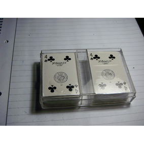 Naipes Cartas Poker Vitoria Fournier 2 Mazos Mini Spain