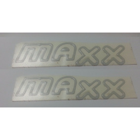 Kit Adesivos 2 Maxx Resinados Prata Celta Corsa + Brinde