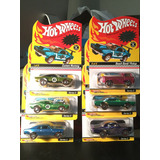 Hot Wheels Neo-clasics 6pz Mustang,rodger,nova,tnt,beach Y C