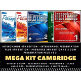 Interchange 4th Ed.+ Passages 1 E 2 Em Dvd - Frete Grátis