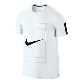 Playera Tennis Nike Court Crew Gfx Tenis Federer Nadal