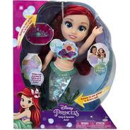 Muñeca Sirenita Disney Princesas Ariel Luces Y Sonidos