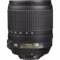 Lente Nikon Af-s 18-105mm Vr Produto Novo E Original Nikon