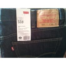 Blue Jeans Levis 559 Talla 38x30 100% Original Usa