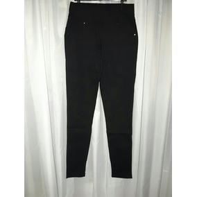 Pantalones Tipo Calza Tela Estilo Jean