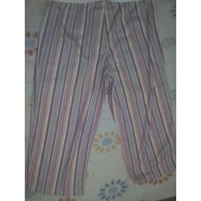 Conjunto Pijama Juvenil ( L / G ) Rosado Con Blanco Algodón
