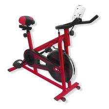 Bicicleta Spinning Uso Rudo 13kg Estatica Banda Gym