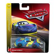 Auto Cars Richie Gunzit Mattel Original Disney Metalico