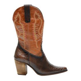 Bota Feminina Atron Shoes 2614 Cafe/caramelo