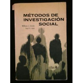 Metodos De Investigacion Social