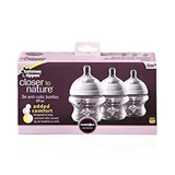 Set De 3 Mamaderas Tommee Tippee Anticolico 150 Ml