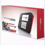 Nintendo 2ds + De 2000 Juegos De 3ds Y 15000 De Retroconsola