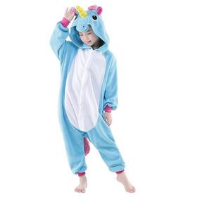 Unicornio Pijama Infantil - Idêntico A Foto! *importado*