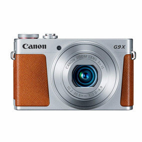 Canon Powershot G9x Plata Reacondicionada