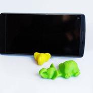 Suporte De Tela Celular Chaveiro De Elefante iPhone Android