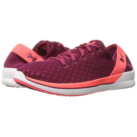 Tenis Under Armour Rotation Dama Para Correr Color Guinda