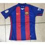 Camiseta Time Barcelona Listrada Tardicional Nova Original