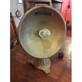 Lámpara De Cobre Funcionando