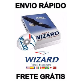 Curso De Inglês Wizard Completo + Aluno + Professor + Brinde