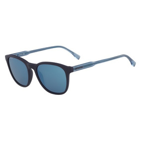 Óculos Lacoste L864s 424 Azul Fosco Lente Azul Flash Tam 5 a500a31ca0