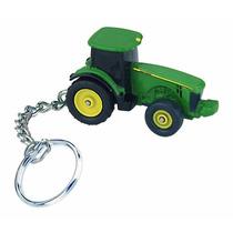 Maquinaria Agriolca Tractor John Deere En Llavero Metalico