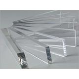 Kit Acrílico Cristal Transparente 4 Pçs 40x60cm 2mm