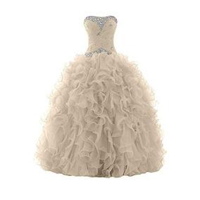 Vestido Debutante Festa 15 Anos 1236 Noivas Promoção Laranja