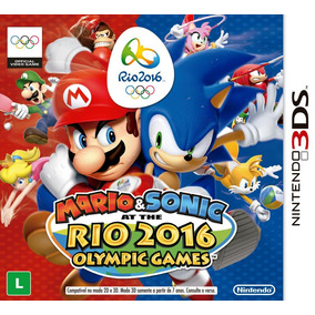 Mario & Sonic At The Rio 2016 Olympic Games - Nintendo - 3ds