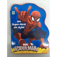 Livro Marvel Um Super-herói Em Ação! Homem Aranha/spider-man