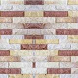 Papel De Parede Pedra Palito Mista - Lavável - Adesivo