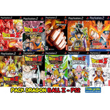 Pack Dragon Ball Z - Ps2