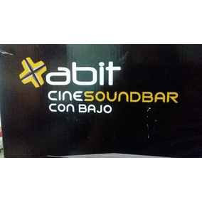 Planta De Sonido. Cine Soundbar Con Bajo