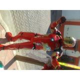 Elaboración Cosplay Disfraz Ironman Halo En Goma Eva Cascos