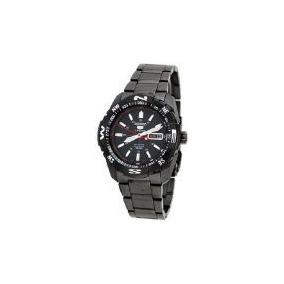 Seiko 5 Sport Negro Reloj Para Hombre Automático Snzj11