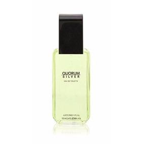 Perfume Antonio Puig Quorum Silver 100ml Original Tester