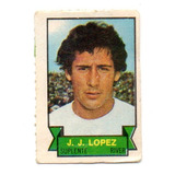 Figurita Mini Futbol 1972 Jj Lopez - River