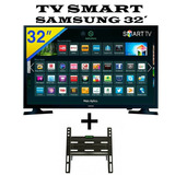 Smart Tv 32 Pulgadas + Soporte De Regalo Samsung Netflix You