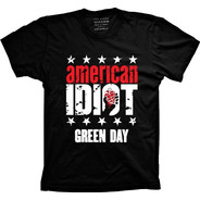 Camiseta Green Day Vários Tams. Plus Size G1 G2 G3 G4